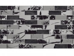 Плитка Вставка декоративная Glent Black DW9GLB99 249*500*7,5