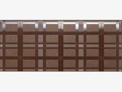 Плитка Dec.SCOZZESE COFFEE BROWN VSND60K 26x61
