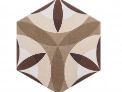 Плитка Hexatile Nature Cream 17,5х20