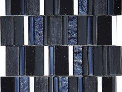 Мозаика Stripes Carbon 30*30