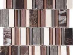 Мозаика Stripes Cinnamon 30*30