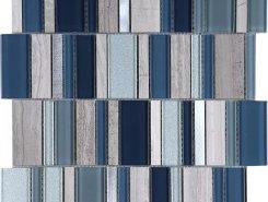 Мозаика Stripes Cold 30*30