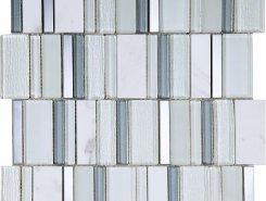 Мозаика Stripes Snow 30*30