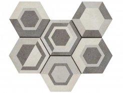 Плитка Rewind Decoro geometrico Vanilla R4DT 21х18.2
