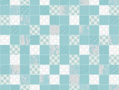 Декор Altacera Rainfall Mosaic Aquamarine DW7MSC16 300х300
