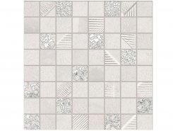Плитка СД256Р Мозаика Ibero Cromat One White 30x30