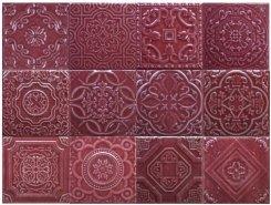 Плитка Toledo Burgundi mix 15,8x15,8