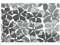 Плитка Dec.DAHLIA DELUXE BIANCO LUC Ret set2pcs EDENL1R2 64.2x96.3