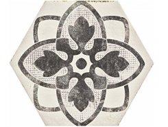 Плитка Eden Декор Decoro Tappeto 1 Bianco 18.2x21 натуральный