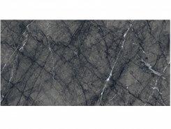 Плитка Uffizi Floor Project Керамогранит Black 45x90 натуральный