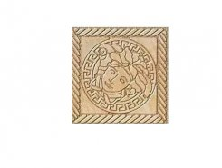 Плитка Eterno Тоццетто Tozetto Medusa Oro Carbon 2.7x2.7 натуральный