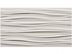 Плитка 3D white curvy matt / 3д вайт курви матт 30.5x56