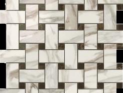 Плитка S.M. Calacatta Gold Twist Mosaic