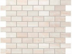 Плитка S.O. Pure White Brick Mosaic / С.О. Пьюр Вайт Брик Мозаика