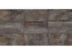 Плитка Flatiron BLACK 61.5x121 Rett
