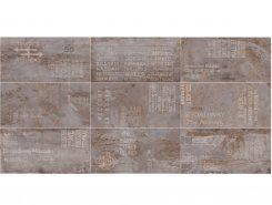 Плитка Flatiron SILVER Dec 61.5x121 Rett