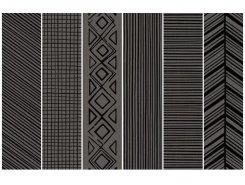 Takenos K`sim GRAPHITE Picasso Mix6 14.6x59.3