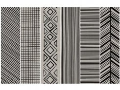 Takenos K`sim TAUPE Picasso Mix6 14.6x59.3