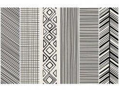 Takenos K`sim WHITE Picasso Mix6 14.6x59.3