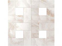 Плитка S.O. Pure White Mosaic Lap / С.О. Пьюр Вайт Мозаика Лаппато