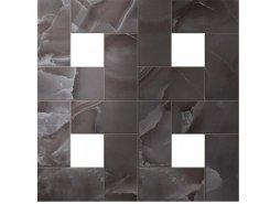 Плитка S.O. Black Agate Mosaic Lap / С.О. Блэк Агате Мозаика Лаппато