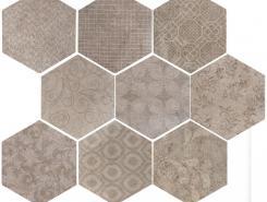 Плитка Riabita Natural Esagona Fabric 24.00х27.70