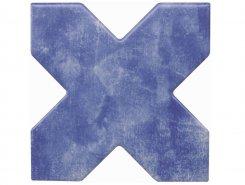 Плитка BECOLORS CROSS 13,25X13,25 ELECTRIC BLUE