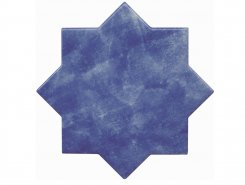 Плитка BECOLORS STAR 13,25X13,25 ELECTRIC BLUE