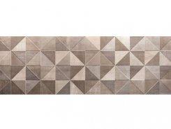 Плитка Color Now Tangram Fango Inserto 30.5x91.5