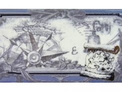Плитка СД130 Декор MARITIMA NAUTICA CENEFA-2 10*20