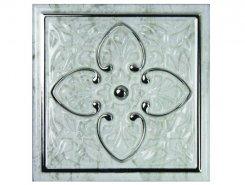 Плитка СД185 Декор MONOPOLE PETRA Dec. Armonia Silver A 15*15