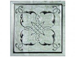 Плитка СД186 Декор MONOPOLE PETRA Dec. Armonia Silver B 15*15