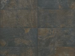 Плитка SLATE Nat-Rett Black 39,6x79,4