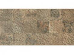 SLATE RAMAGE Decor Nat-Rett Beige/Ruggine 39,6x79,4