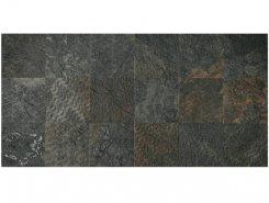 Плитка SLATE RAMAGE Decor Nat-Rett Black 39,6x79,4