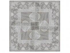 Плитка Rosone Lapp-Rett. Light Grey 99x99 (49,5x49,5x4)