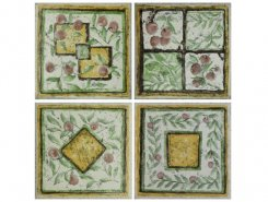 Плитка Плитка Rumagna A/SP20 Saludecio mix Giallo-Verde 10x10