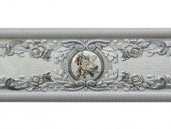 Плитка Cardinale II Cenefa Gris 12x30