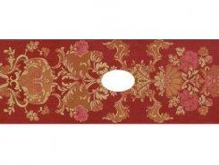 Stariy Arbat Decor-Wentana Flower Red 25,3x70,6