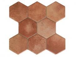 Pav. Hexagonal Terra beige 37.2x38.8