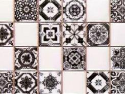 Novum Whiteblack плитка настенная 20x30