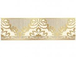 Плитка 1502-0575 Бордюр Катар белый 7,5х25