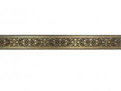 Плитка 1502-0578 Бордюр Катар коричневый 2,8х25