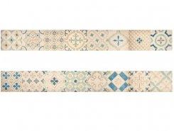 Плитка 1506-0173 Парижанка бордюр Мульт. 7,5х60