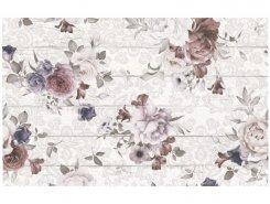 Плитка 1606-0006 Шебби Шик панно белый 40х60 (комп2шт)