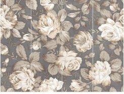 Плитка 1608-0116 Фиори Гриджио Дек Панно Цветы 60х80 (комп 4шт)