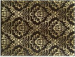 Плитка 1634-0091 Декор Катар коричневый 25х33