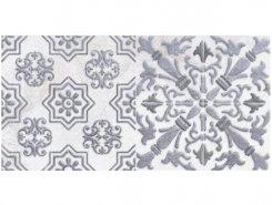 Плитка 1641-0091 Кампанилья Серый Декор 1 20х40