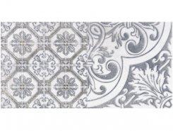 Плитка 1641-0095 Кампанилья Серый Декор 3 20х40