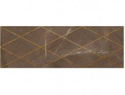 Плитка 1664-0147 Миланезе декор римский Марроне 20х60